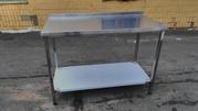 Продам кухонный стол из нержавеющей стали. Дешево