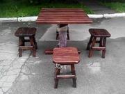 Комплект стол и стулья бу